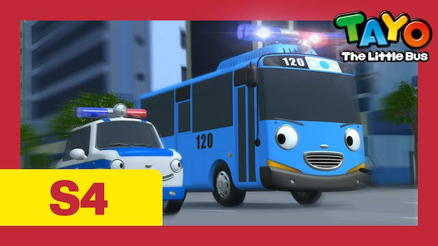 Tayo the Little Bus S4 EP18 - Tayo be...