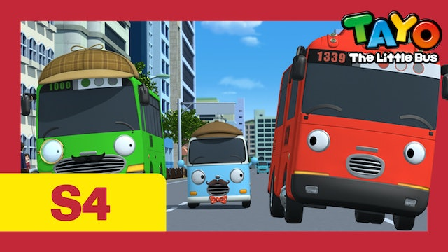 Tayo the Little Bus S4 EP20 - The best detective