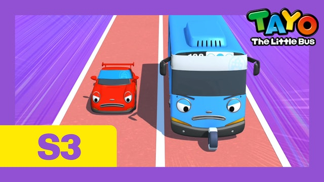 Tayo the Little Bus S3 EP26 - Little buses' sports day