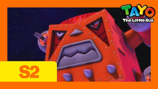 Tayo the Little Bus S2 EP18 - Tayo's Space Adventure (Part2)