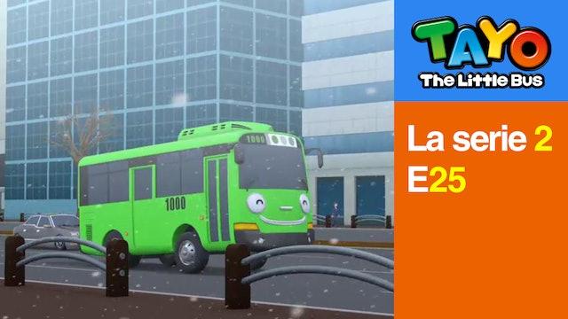 Tayo El Pequeño Bus la Serie 2 EP25 - El día nevado de Tayo