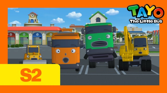 Tayo the Little Bus S2 EP23 - A Frightful Night