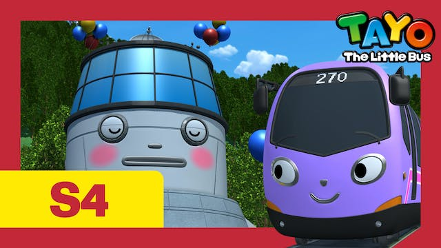 Tayo the Little Bus S4 EP23 - Trammy'...
