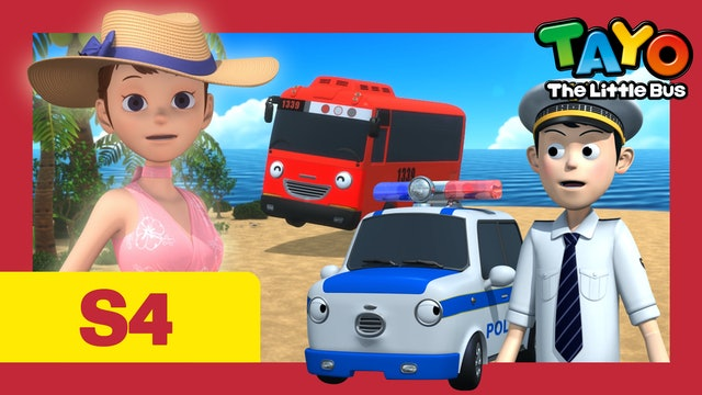 Tayo the Little Bus S4 EP10 - A present for Hana
