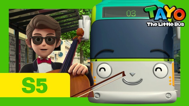 Tayo the Little Bus S5 EP3 - The cello's owner