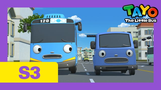 Tayo the Little Bus S3 EP8 - Tayo's p...