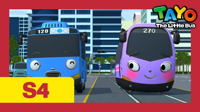 Tayo the Little Bus S4 EP24 - Trammy'...
