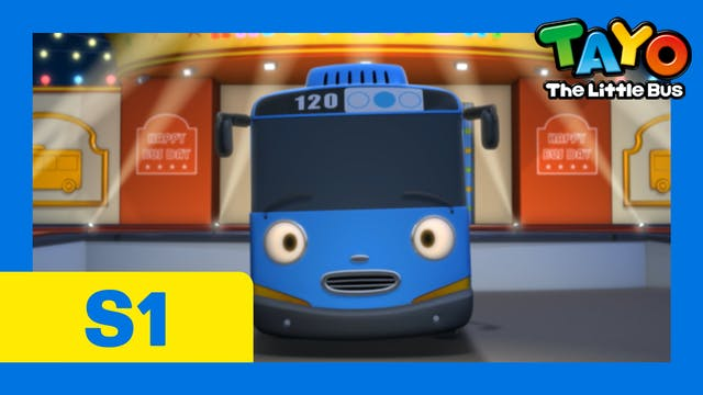 Tayo the Little Bus S1 EP26 - Tayo is...