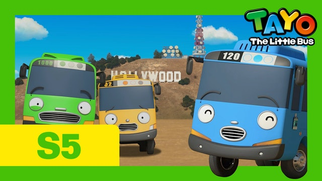 Tayo the Little Bus S5 EP15 - The Little Buses Go To America Part 1