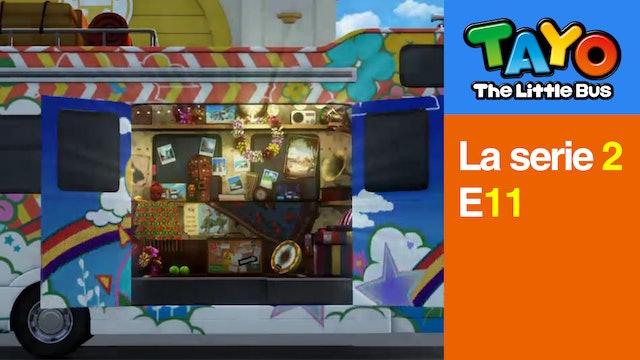 Tayo El Pequeño Bus la Serie 2 EP11 - El Invitado de Rogi