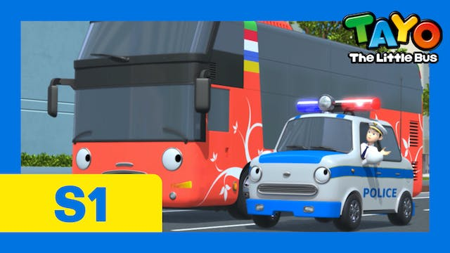 Tayo the Little Bus S1 EP6 - Thanks, ...
