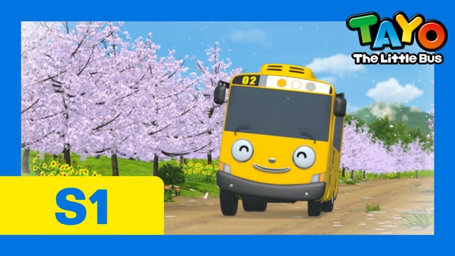 Tayo the Little Bus S1 EP23 - Lani's day off