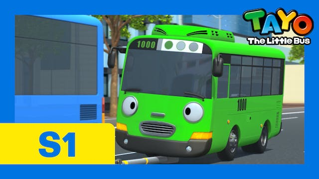 Tayo the Little Bus S1 EP4 - Good fri...