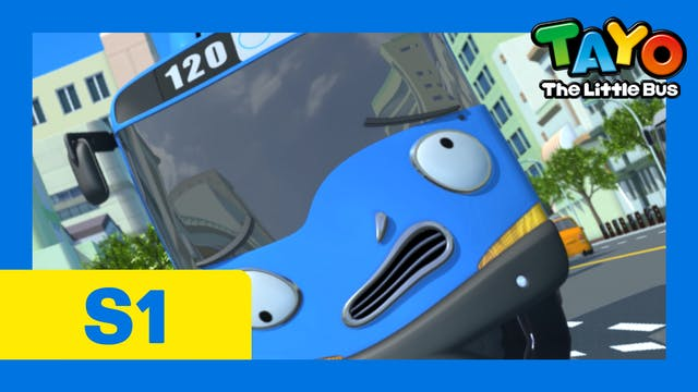 Tayo the Little Bus S1 EP2 - Tayo get...