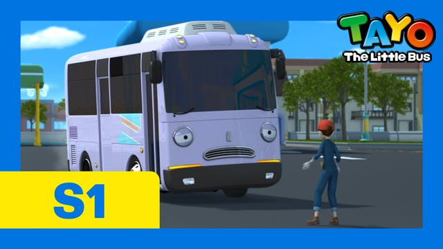Tayo the Little Bus S1 EP3 - Tayo's f...