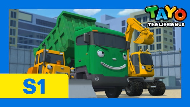 Tayo the Little Bus S1 EP16 - The best heavy vehicles