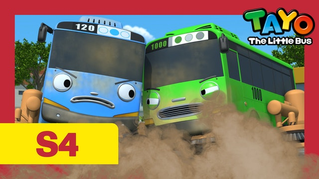 Tayo the Little Bus S4 EP14 - Who is cooler