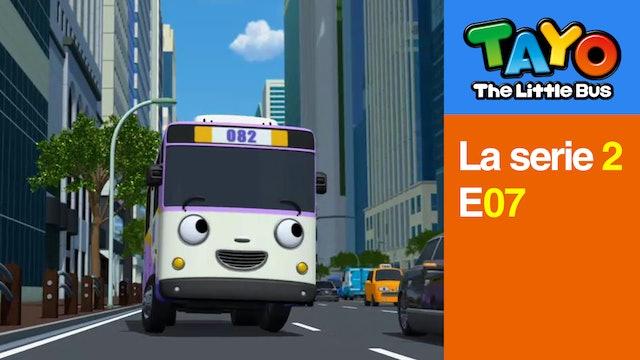 Tayo El Pequeño Bus la Serie 2 EP7 - Nana visita la ciudad