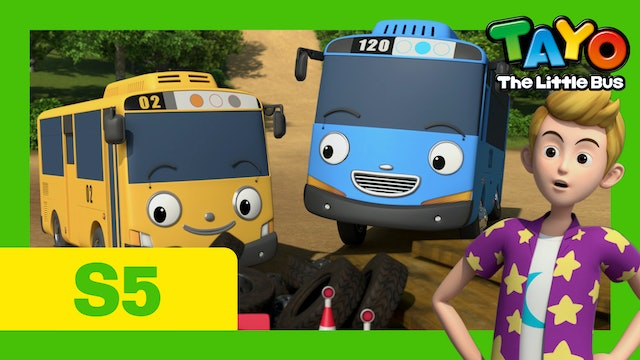 Tayo the Little Bus S5 EP9 - The Secret Playground