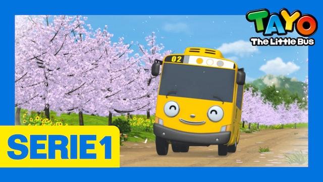 Tayo El Pequeño Bus la Serie 1 EP23 - El día libre de Lany