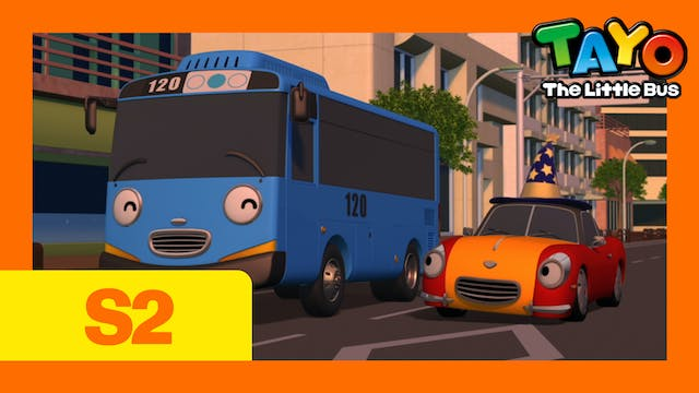 Tayo the Little Bus S2 EP15 - Tayo th...