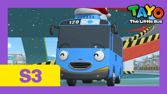Tayo the Little Bus S3 EP22 - Tayo's Christmas