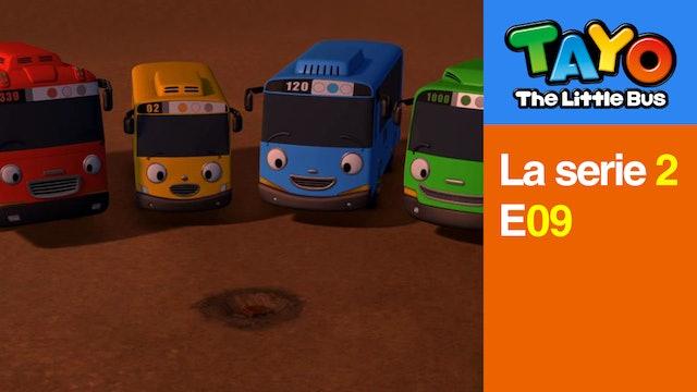 Tayo El Pequeño Bus la Serie 2 EP9 - El tesoro es mío