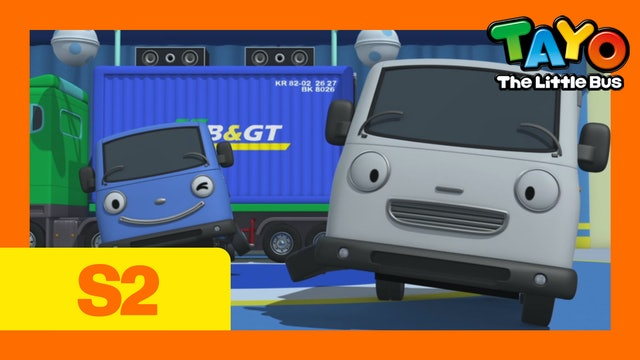 Tayo the Little Bus S2 EP12 - The Leader of the Playground !