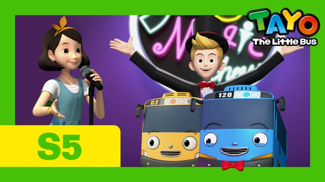 Tayo the Little Bus S5 EP13 - Joy's Magic Show