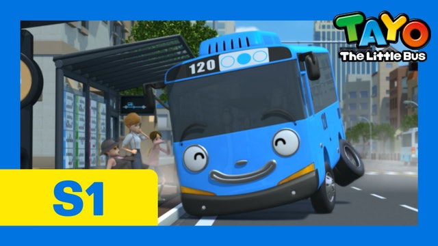 Tayo the Little Bus S1 EP24 - My job's the hardest
