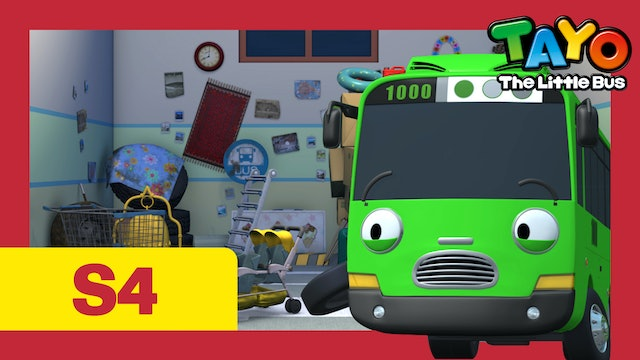 Tayo the Little Bus S4 EP15 - Rogi's junk treasure