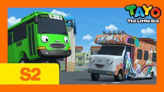 Tayo the Little Bus S2 EP11 - Rogi's Special Guest