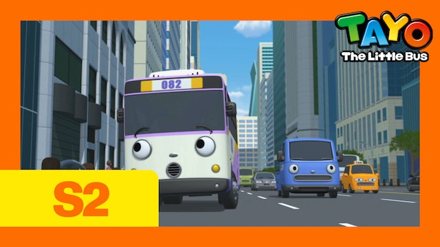Tayo the Little Bus S2 EP7 - Nana Visit the City
