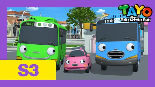 Tayo the Little Bus S3 EP2 - We are a Family