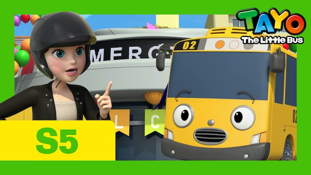 Tayo the Little Bus S5 EP6 - New rescuer, Jay