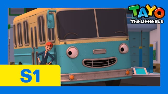 Tayo the Little Bus S1 EP9 - Our new ...