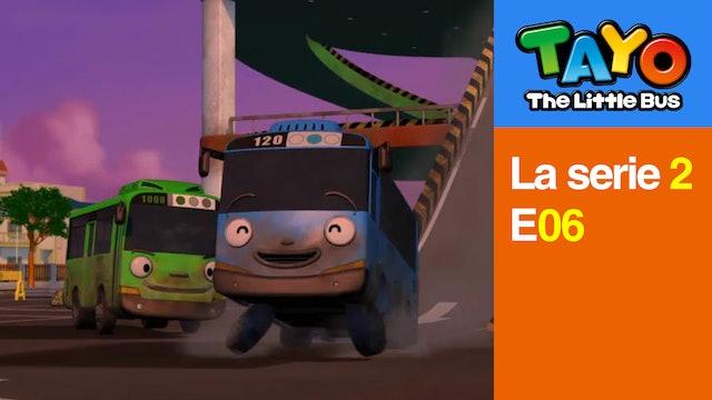 Tayo El Pequeño Bus la Serie 2 EP 6 - Un Parque Nuevo
