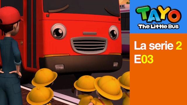 Tayo El Pequeño Bus la Serie 2 EP3 - El Maestro Garni