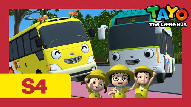 Tayo the Little Bus S4 EP25 - Kinder'...