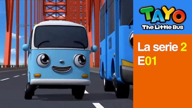Tayo El Pequeño Bus la Serie 2 EP1 - Tayo y Bong Bong