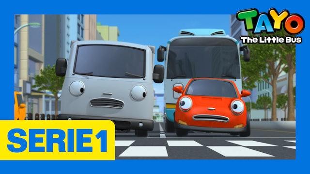 Tayo El Pequeño Bus la Serie 1 EP8 - Quiero neumáticos nuevos