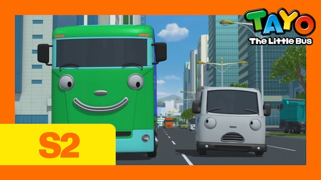 Tayo the Little Bus S2 EP4 - I'll help you, Big !
