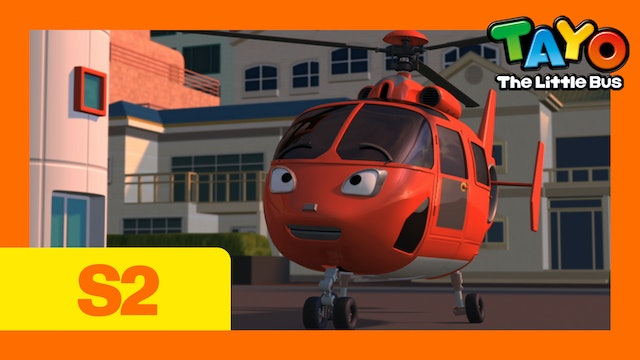Tayo the Little Bus S2 EP21 - Air, the Brave Helicopter