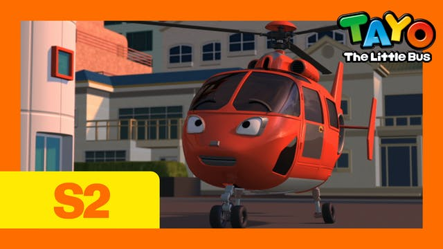 Tayo the Little Bus S2 EP21 - Air, th...