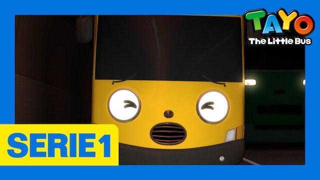 Tayo El Pequeño Bus la Serie 1 EP5 - Miedo a la oscuridad