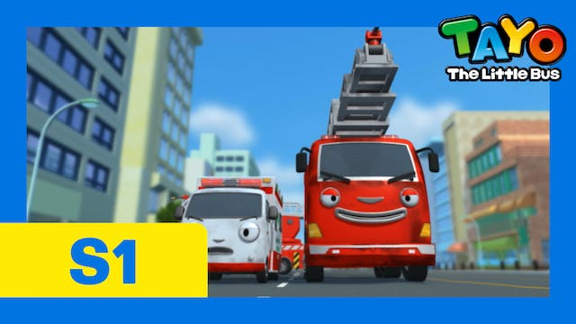 Tayo the Little Bus S1 EP18 - Frank a...