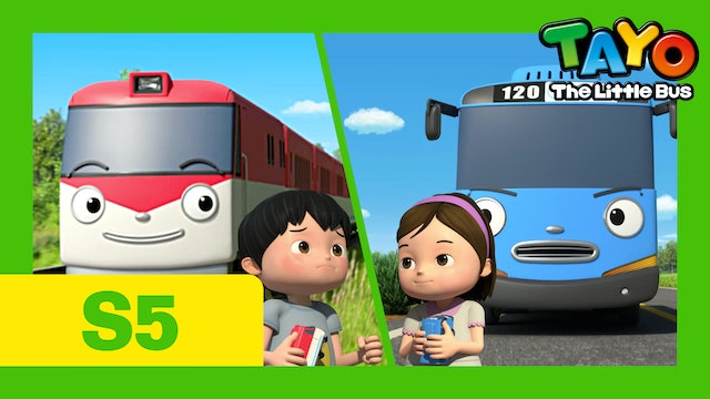 Tayo the Little Bus S5 EP5 - Tayo and Titipo's Race