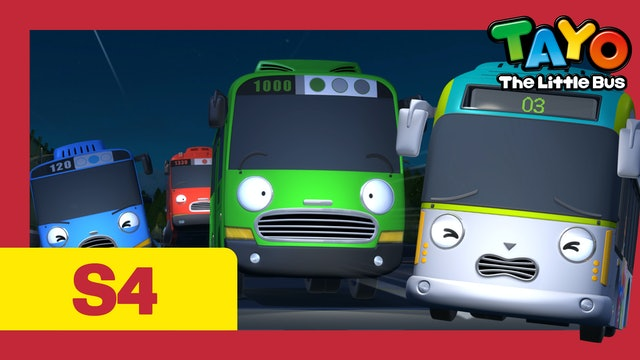 Tayo the Little Bus S4 EP22 - Mountain ghost incident