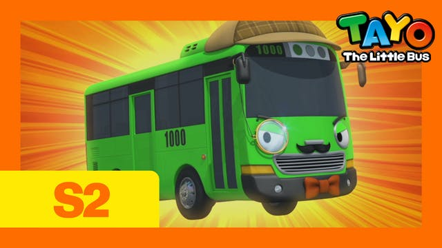 Tayo the Little Bus S2 EP10 -Rogi the...