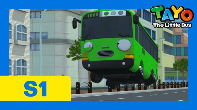 Tayo the Little Bus S1 EP14 - Rogi's hiccups